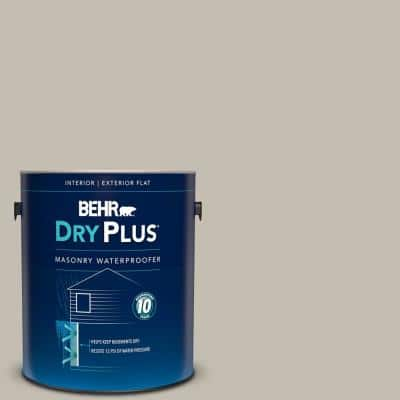Behr 1 Gal Bw 50 Wheat Harvest Flat Interior Exterior Dry Plus Masonry Waterproofer 87501 The Home Depot