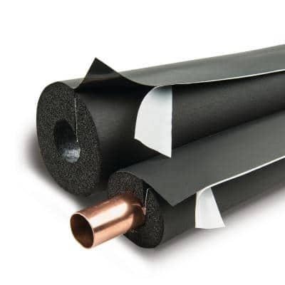 Lap Self-Seal 6 in. x 1 in. Pipe Insulation - 6 lin. ft./Carton