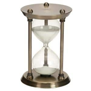 9 in. Brass Metal Glam Timer
