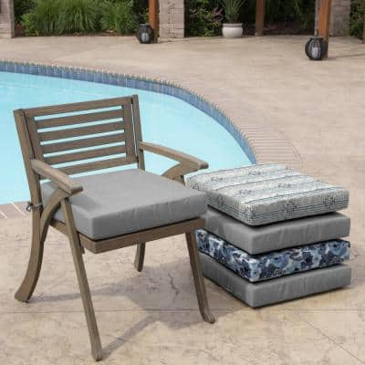 Paloma Valencia Woven Square Outdoor Seat Cushion