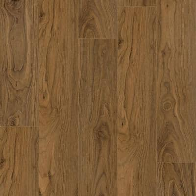 Dewitt Walnut 7.20 in. W x 42 in. L SPC Waterproof Vinyl Plank Flooring (25.20 sq. ft./Case)