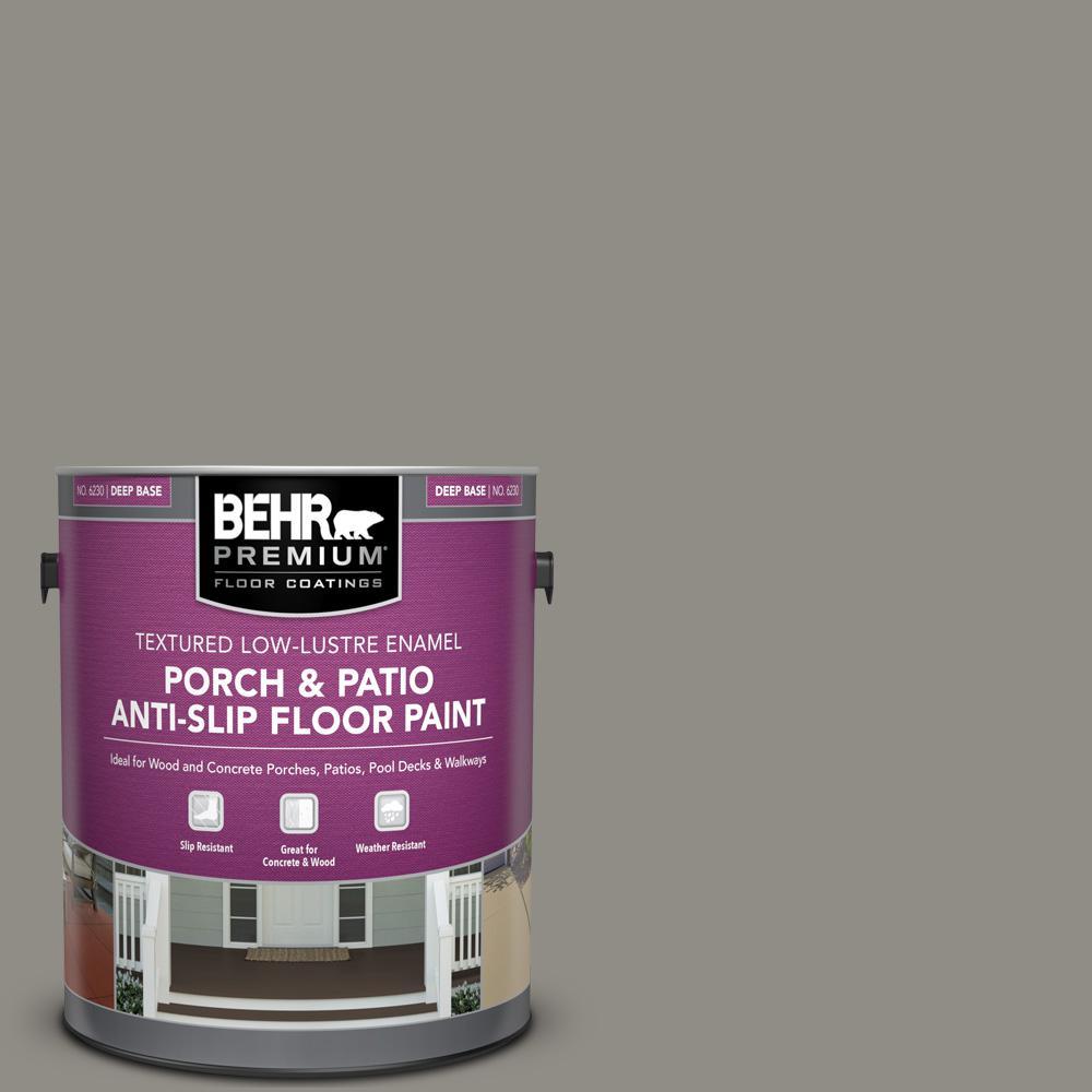 1 gal. #PFC-69 Fresh Cement Textured Low-Lustre Enamel Interior/Exterior Porch and Patio Anti-Slip Floor Paint