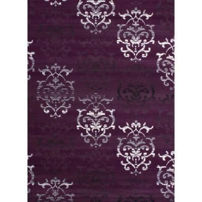 Countess Lilac 8 ft. x 11 ft. Indoor Area Rug