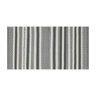 Anwar Tribal Grey 2 ft. x 4 ft. Moroccan Accent Rug