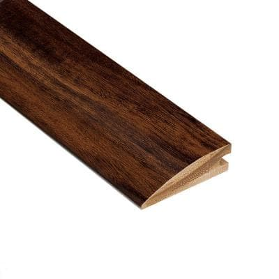 Strand Woven Acacia 3/8 in. Thick x 2 in. Wide x 78 in. Length Exotic Bamboo Hard Surface Reducer Molding