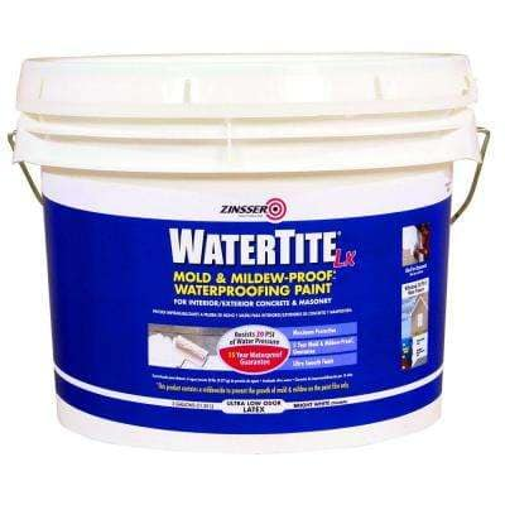 3 gal. WaterTite LX Low VOC Mold and Mildew-Proof White Water Based Waterproofing Paint