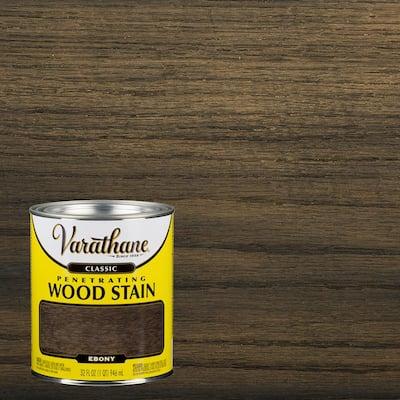1 qt. Ebony Classic Wood Interior Stain (2-Pack)