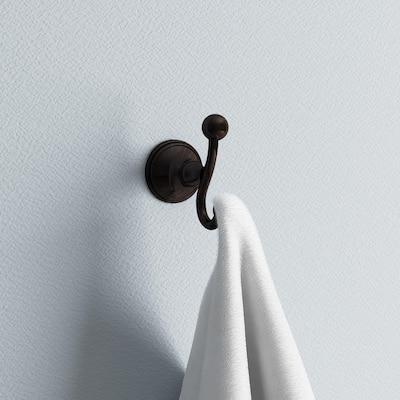 Crestfield Double Towel Hook in Venetian Bronze