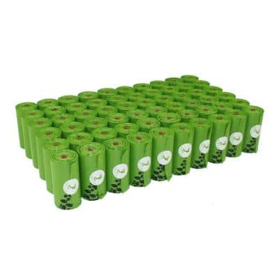 Earth-Friendly Dog Poop Bags (1080-Counts, 60-Rolls)