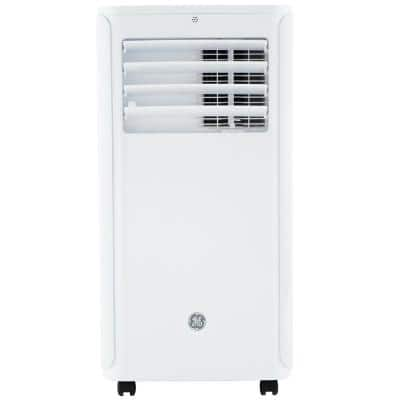 6,100 BTU Portable Air Conditioner with Dehumidifier and Remote in White