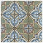 Harmonia Grove Green 13 in. x 13 in. Ceramic Floor and Wall Tile (12.19 sq. ft./Case)