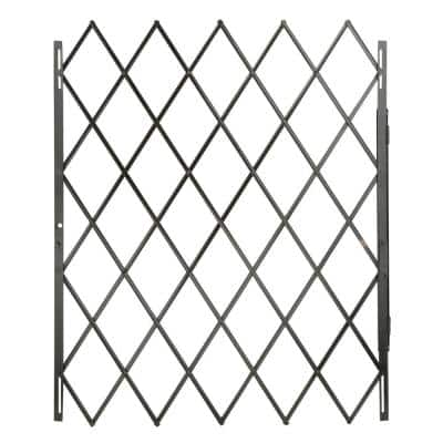 48 in. x 79 in. Black Expandable Security Gate