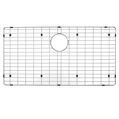 Wirecraft 17.25 in. x 33.25 in. Bottom Grid for Kitchen Sinks in Stainless Steel