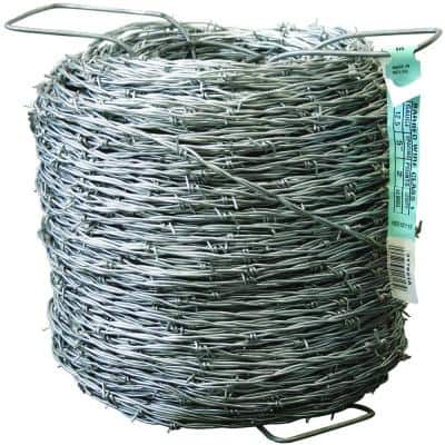 1320 ft. 12-1/2 Gauge 2-Point Class I Barbed Wire