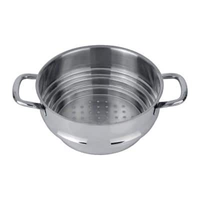 CollectNCook Stainless Steel 9.5 in. Steamer Insert