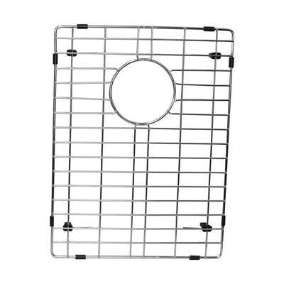 12.75 in. x 17.25 in. Kitchen Sink Bottom Grid in Stainless Steel