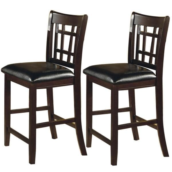 Wooden Counter Height Chair, 24 Inch Height Dining Chairs
