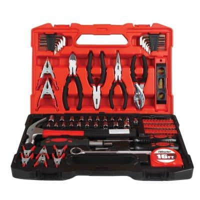 SAE and Metric Combination Tool Set (90-Piece)