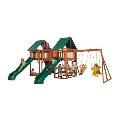 Sequoia Wooden Complete Swing Set