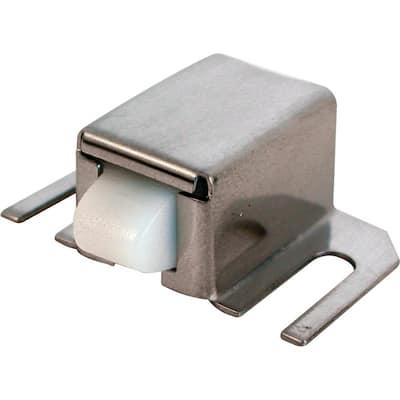 1/2 in. x 1-5/16 in., Stainless Steel with Plastic Tip, Shower Door Catch