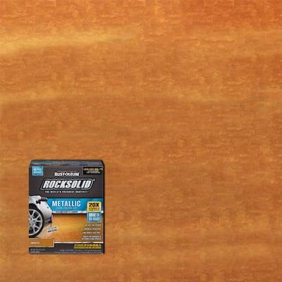 70 oz. Amaretto Metallic Garage Floor Kit