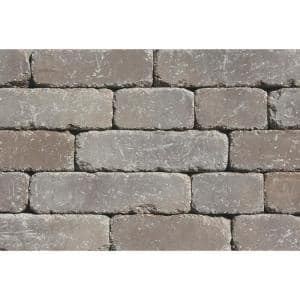 Lakeland I 8 in. L x 12 in. W x 4 in. H Santa Fe Tumbled Concrete Garden Wall Block (20-Pieces/6.5 sq.ft./pack)