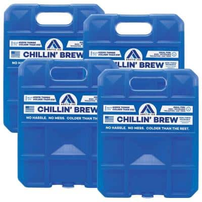 Chillin' Brew Series 5 lb. Freezer Pack 4-Pack
