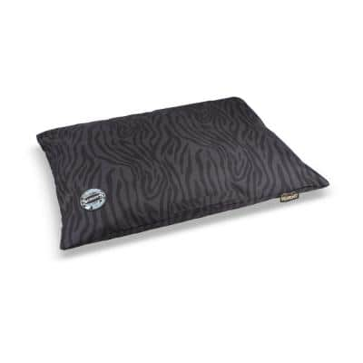 Expedition Medium Black/Grey Polyester Memory Foam Dog Pillow