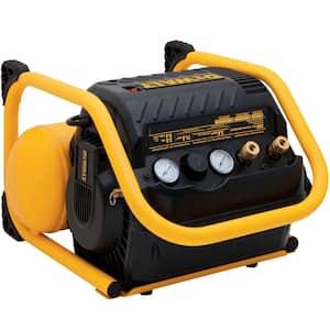 2.5 Gal. Portable Electric Heavy Duty 200 PSI Quiet Air Compressor