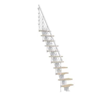 Oak30.Xtra White 2nd Side Railing Kit