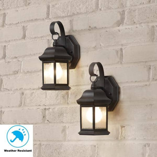 Reviews For Hampton Bay 1 Light Bronze, Outdoor Sconce Lighting Reviews