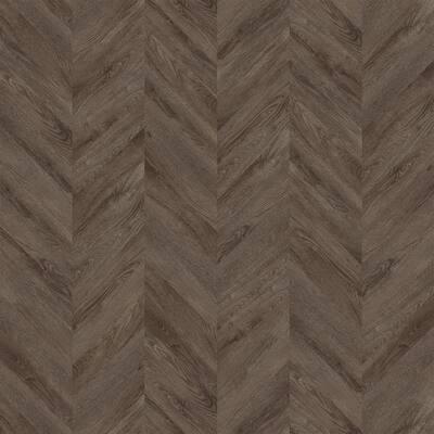 Coffee Bay Wood 12.01 in. W x 28.28 in. L Chevron Luxury Vinyl Plank Flooring (18.87 sq. ft.)