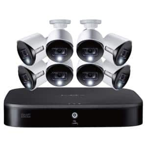 DIY 16-Channel 4K Ultra HD With 2TB HDD DVR Security System with and 8 4K Wired Active Deterrence Cameras