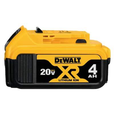 20-Volt MAX XR Premium Lithium-Ion 4.0Ah Battery Pack