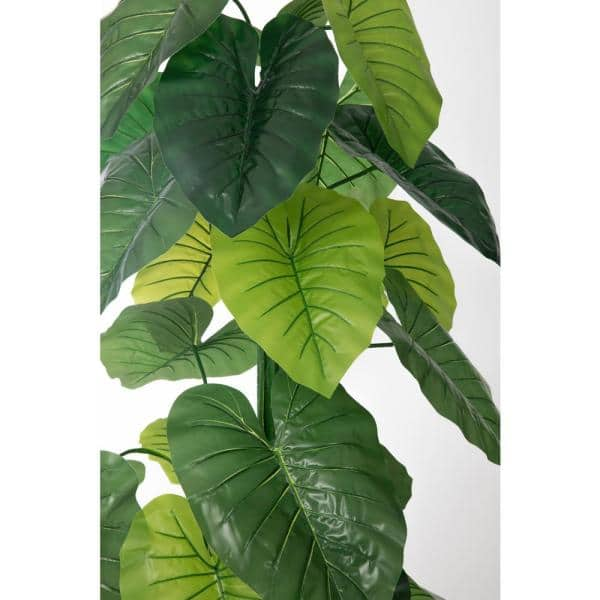 Vintage Home 54 In Real Touch Taro Plant In Fiberstone Planter Vhx138204 The Home Depot