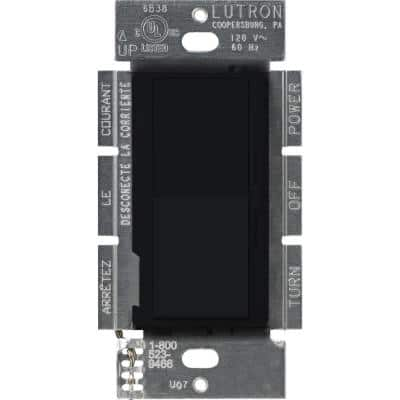 Diva 1.5 Amp Single-Pole/3-Way 3-Speed Fan Control, Black
