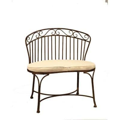 Imperial Patina 32 in. L x 19 in. D x 33 in. H Patio Bench