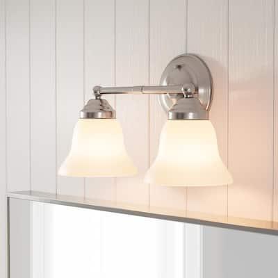 2 Light Vanity Lighting Lighting The Home Depot