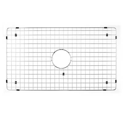 Wirecraft Series 30 in. x 17.13 in. Bottom Grid, Stainless Steel