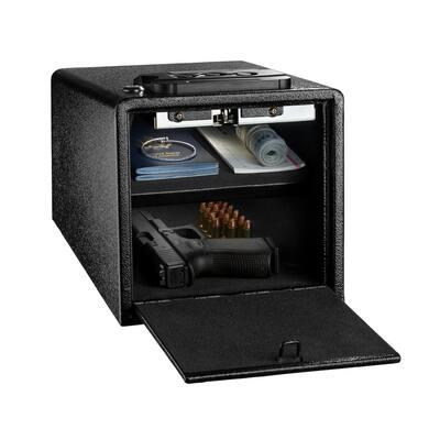 2-Gun Quick Access Digital Pistol Gun Safe, Black