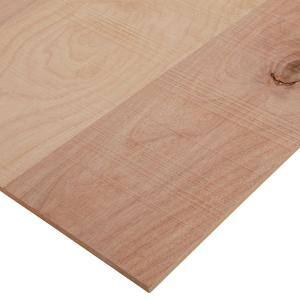 1/4 in. x 2 ft. x 8 ft. Rough Sawn Birch Plywood Project Panel