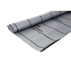 5 ft. x 6 ft. Gray PVC Shower Pan Liner Roll