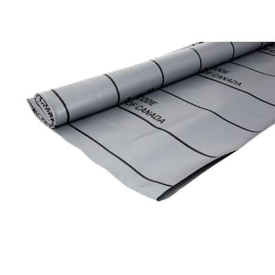 5 ft. x 6 ft. Gray PVC Shower Pan Liner Roll