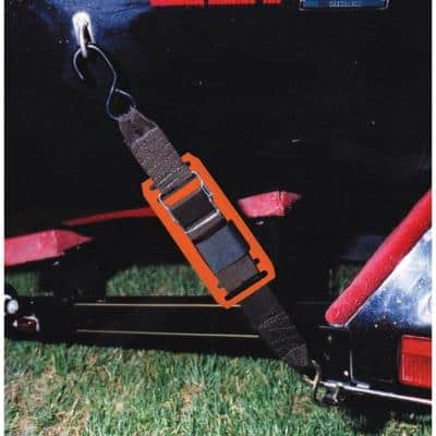Two-Paddle Buckle Tie-Down - Vinyl Pads
