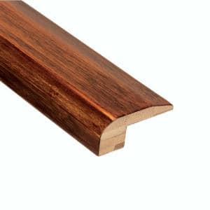 Horizontal Honey 3/8 in. Thick x 2 in. Wide x 78 in. Length Bamboo Carpet Reducer Molding