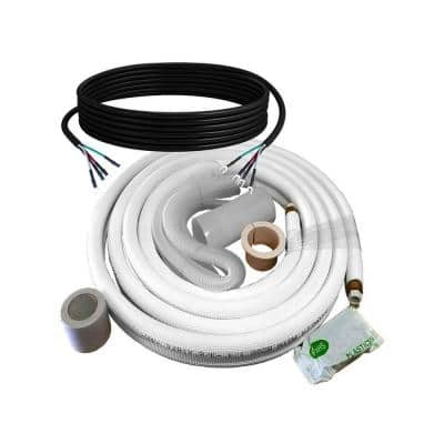 Copper Piping Kit for Mini Split Installation 1/4 in. - 1/2 in., 33 ft.