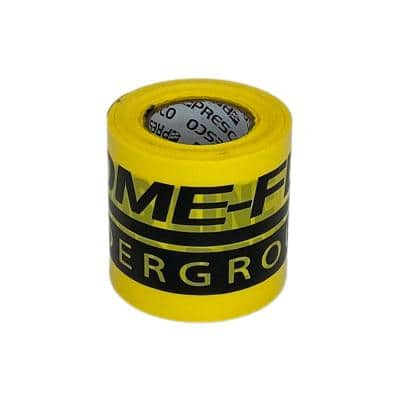 3 in. 100 ft. Direct Burial Gas Caution Tape