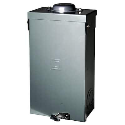 QO 100 Amp 2-Pole Outdoor Circuit Breaker Enclosure