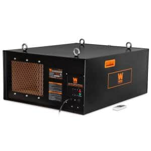3-Speed Remote-Controlled Industrial-Strength Air Filtration System (556/702/1044 CFM)