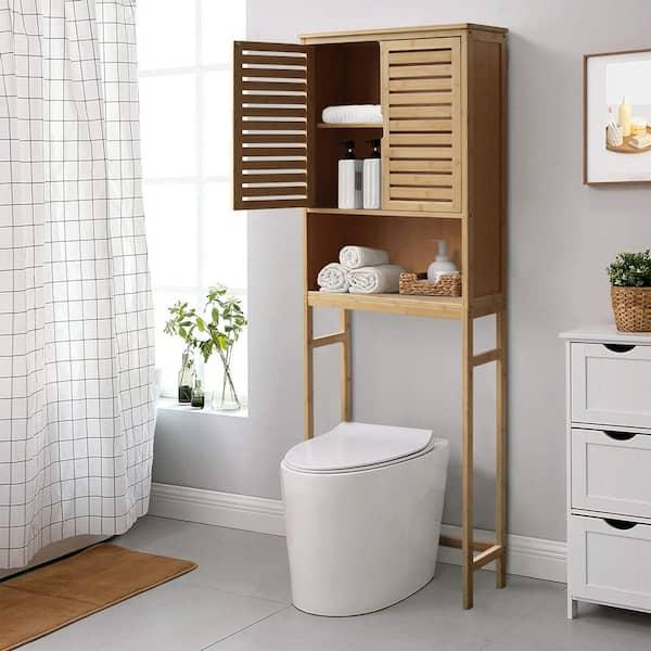 The Toilet Storage, Bathroom Storage Behind Toilet